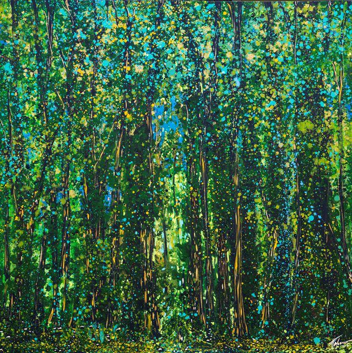 Aguaceros de vida - Galeria Felix Murillo