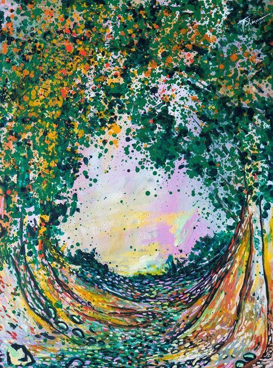 Con el crepúsculo - Galeria Felix Murillo