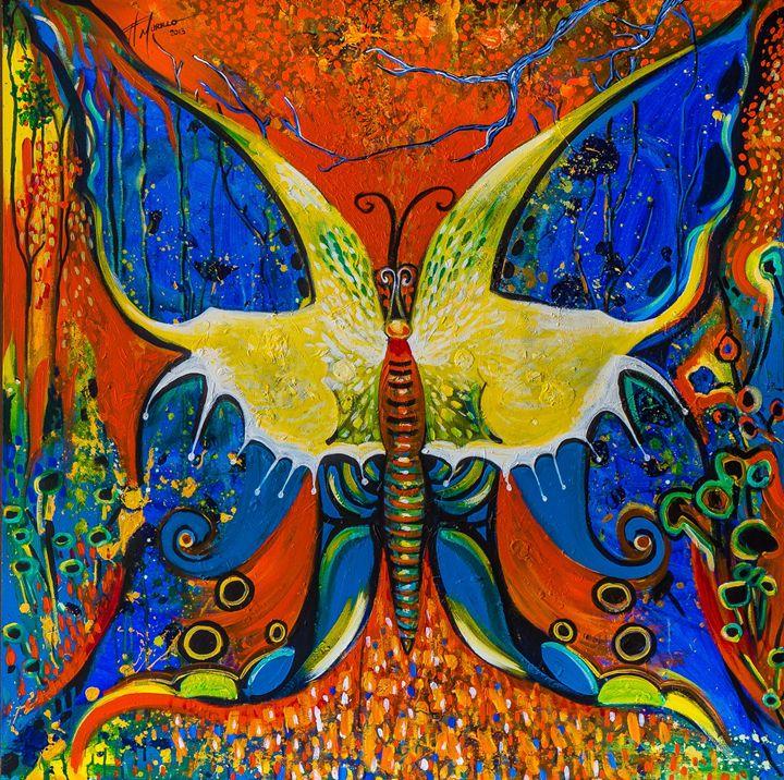 Mariposa de arbol - Felix Murillo