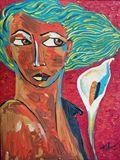 40x30 cm medium acrylic painting