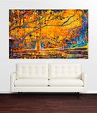 220x127cm large original painting
