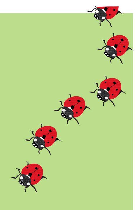 crawling beetles - Shreya