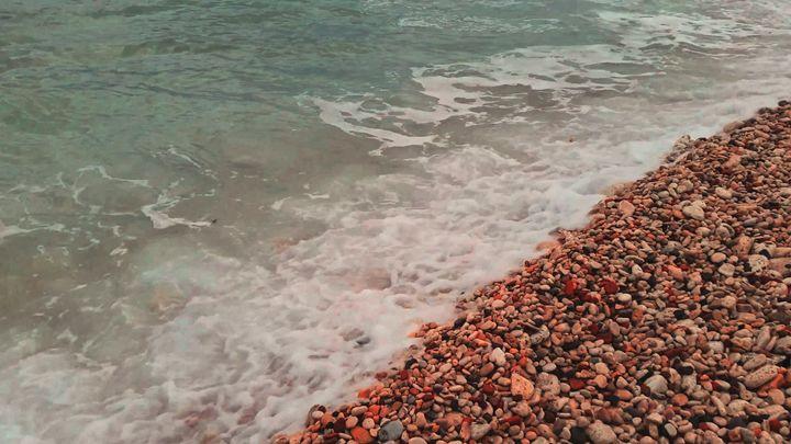 beach, sea, waves - rokkis