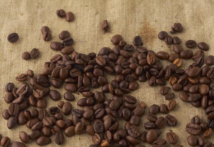 scattered coffee bean - rokkis