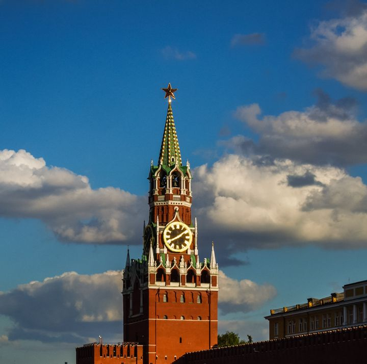 towers of the Moscow Kremlin - rokkis