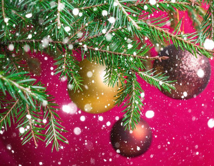 Christmas festive background. - rokkis