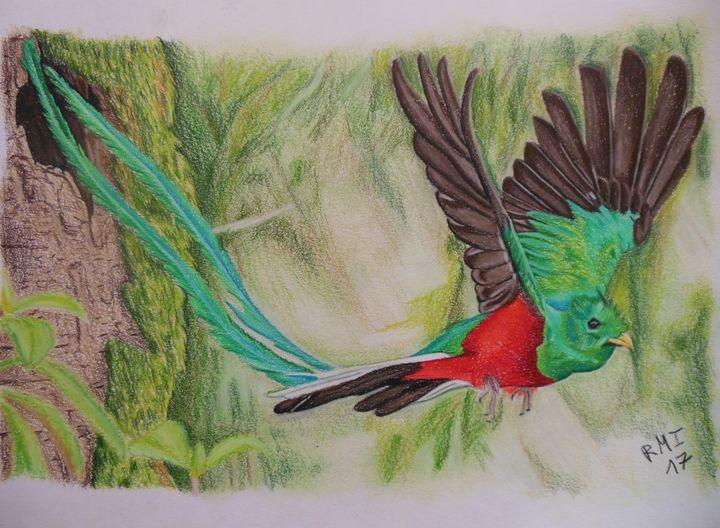 Quetzal - Rubén Moreno Iniesto
