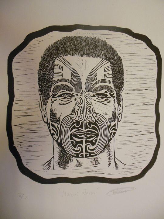 Maori Joven (Young Maori) - Rubén Moreno Iniesto