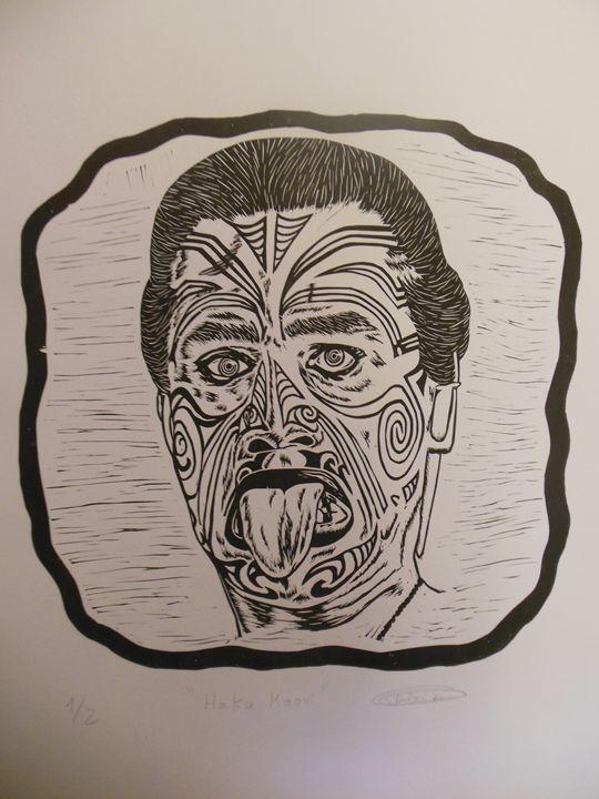 Haka Maori - Rubén Moreno Iniesto