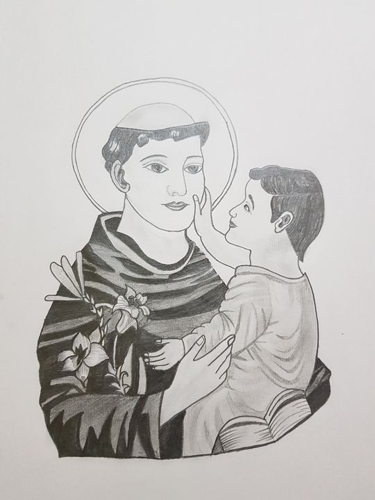 Holy St.Antony - Grab ua favourite art