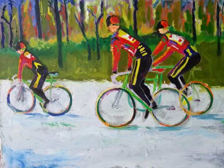 Bicycle Race - Who's Your Muse?