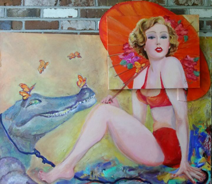 Angel and Alligator II - Who's Your Muse?