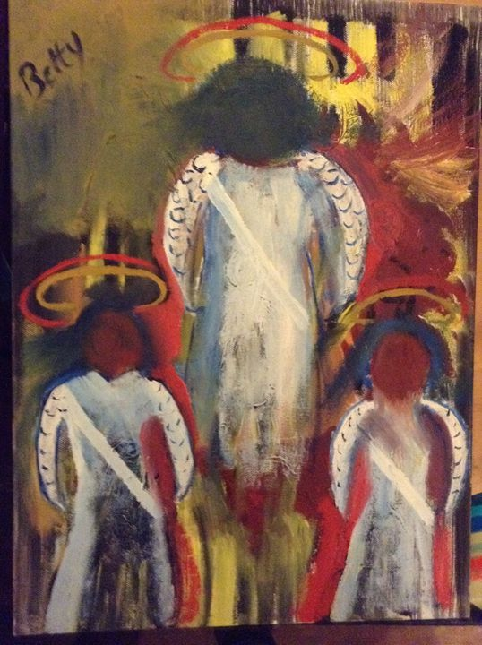 Archangel - Abstracts by Betty Jean Harris