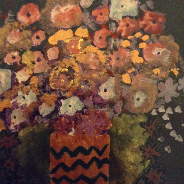 Floral - Abstracts by Betty Jean Harris