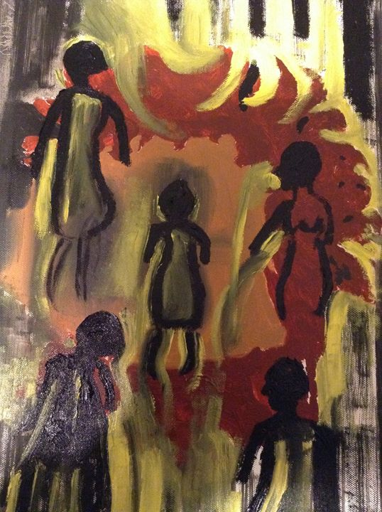 African Perspective - Abstracts by Betty Jean Harris