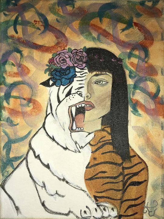 IXPOKAMIZTLI, CAT GIRL - KetzalkoatzinArt