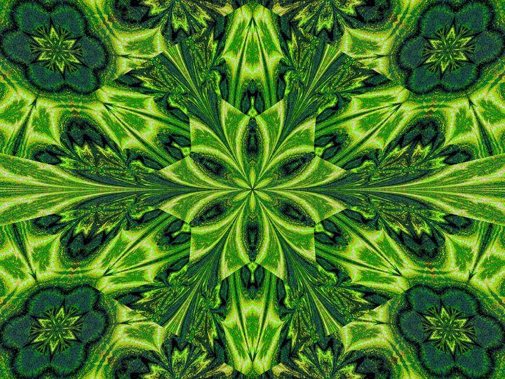 Green Lotus - Sherrie D. Larch