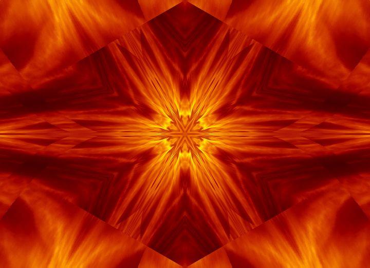 Fire Flowers 2 - Sherrie D. Larch