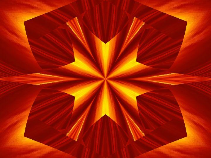 Fire Flowers 24 - Sherrie D. Larch