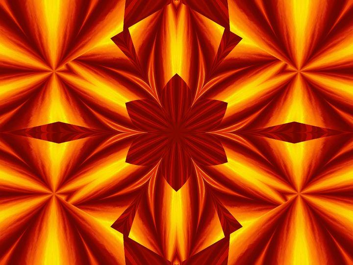 Fire Flowers 25 - Sherrie D. Larch