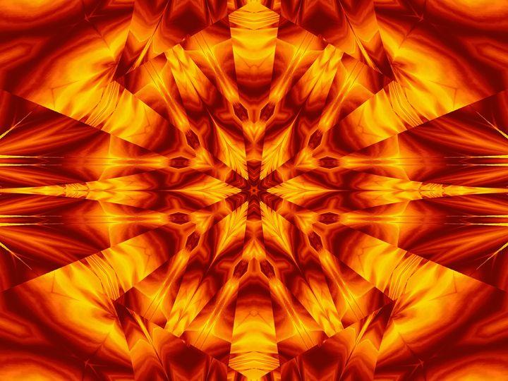 Fire Flowers 30 - Sherrie D. Larch