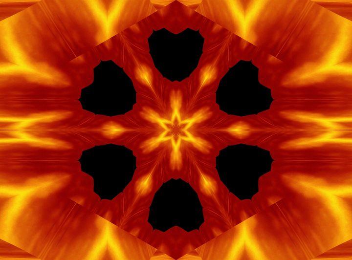 Fire Flowers 87 - Sherrie D. Larch