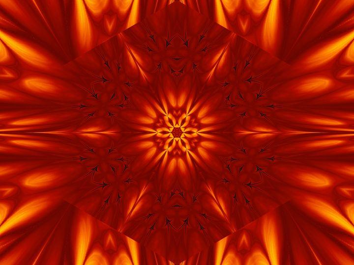 Fire Flowers 100 - Sherrie D. Larch