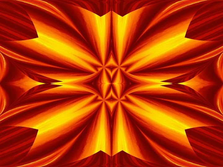 Fire Flowers 102 - Sherrie D. Larch