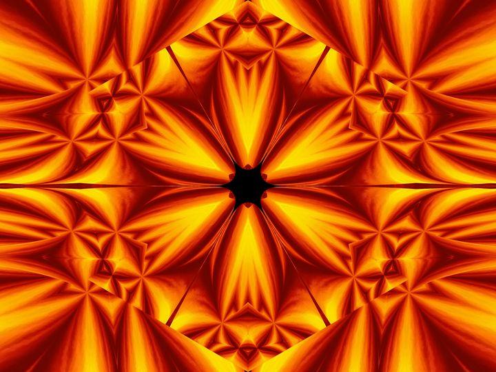 Fire Flowers 103 - Sherrie D. Larch
