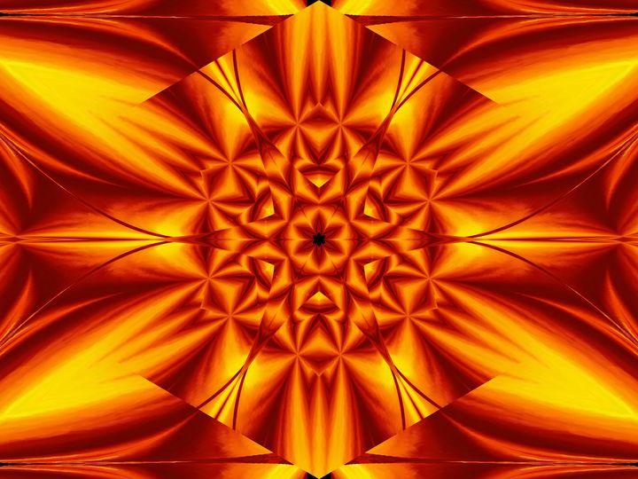 Fire Flowers 104 - Sherrie D. Larch