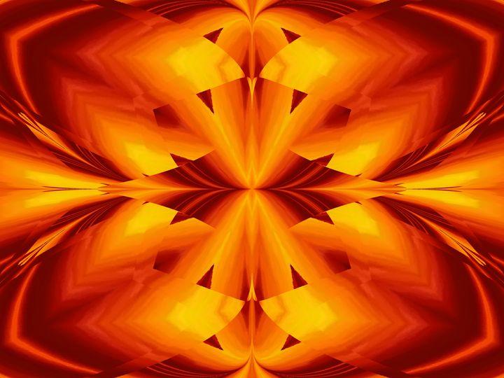 Fire Flowers 109 - Sherrie D. Larch