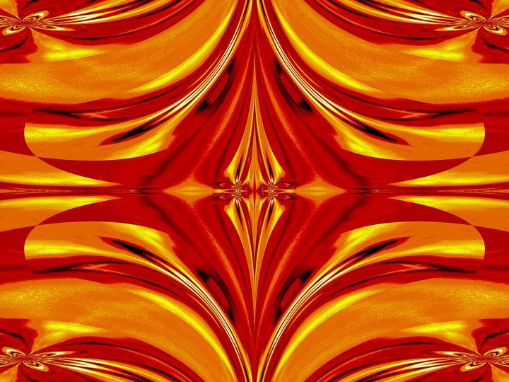 Fire Flowers 112 - Sherrie D. Larch