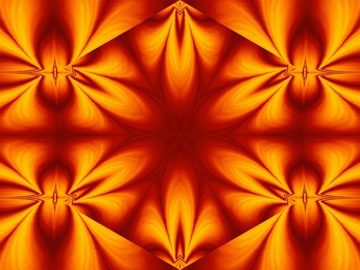 Fire Flowers 124 - Sherrie D. Larch