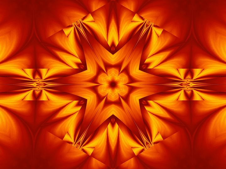 Fire Flowers 128 - Sherrie D. Larch
