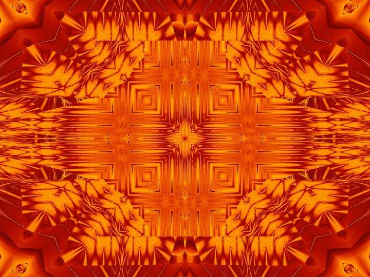 Fire Flowers 138 - Sherrie D. Larch