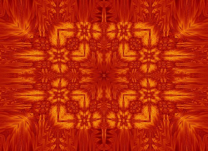 Fire Flowers 177 - Sherrie D. Larch