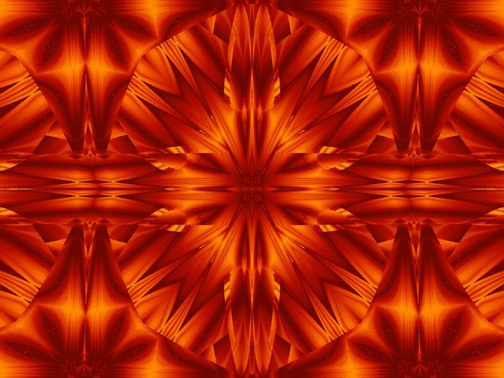 Fire Flowers 186 - Sherrie D. Larch