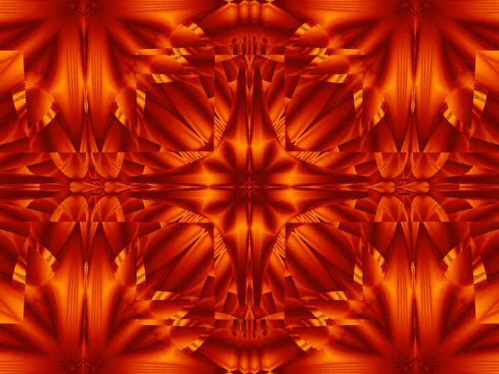Fire Flowers 187 - Sherrie D. Larch