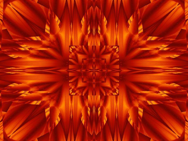 Fire Flowers 190 - Sherrie D. Larch