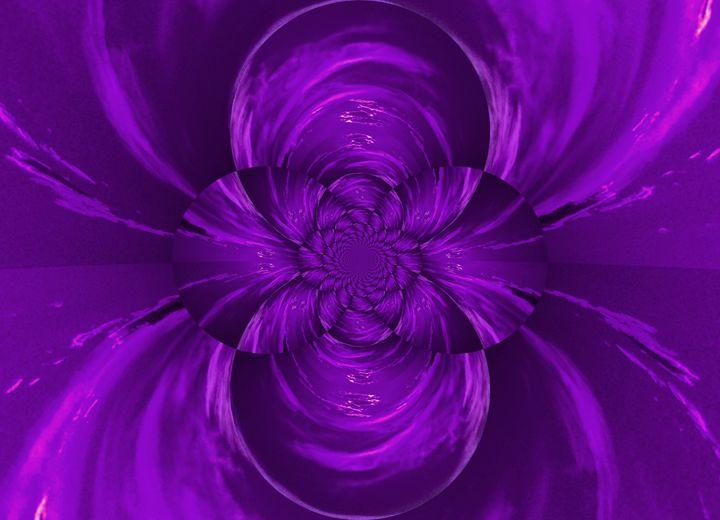 Purple Lotus - Sherrie D. Larch