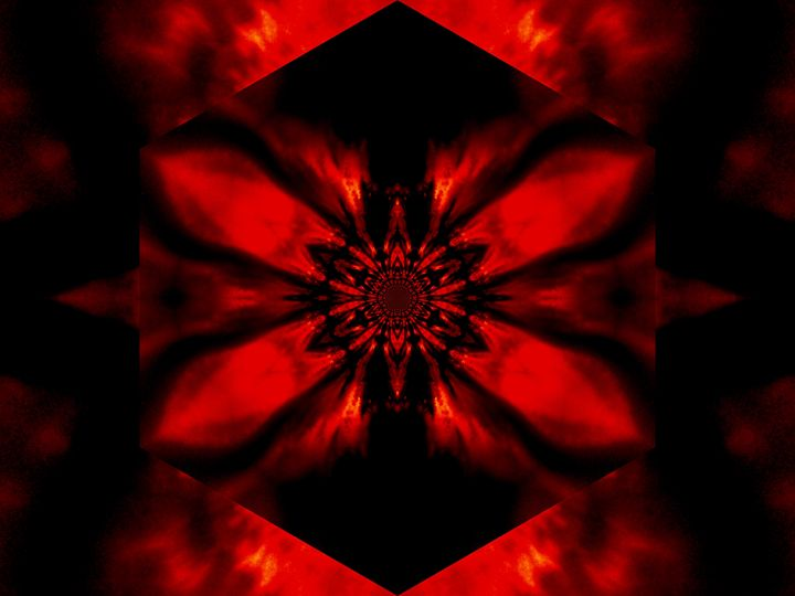 Fire Lotus Red 2 - Sherrie D. Larch
