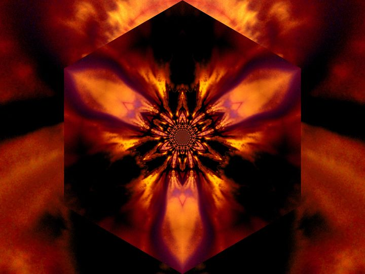 Fire Lotus Gold 1 - Sherrie D. Larch
