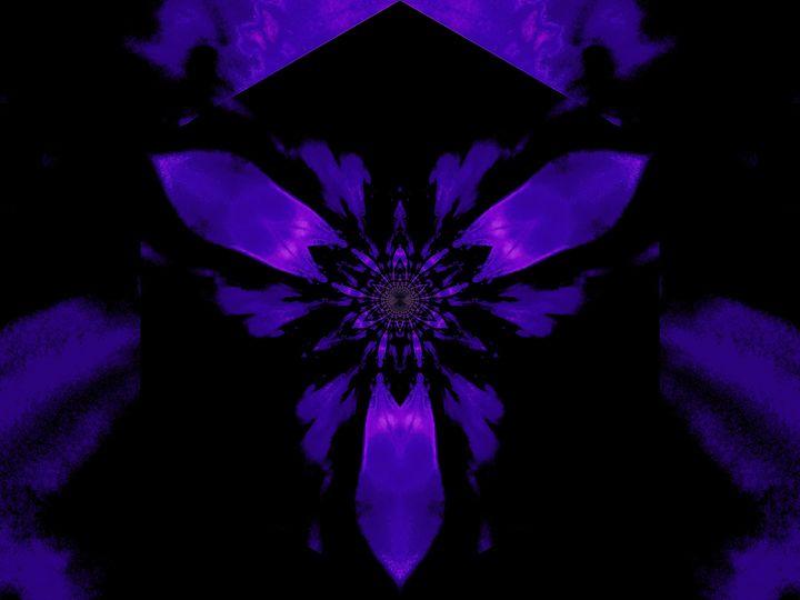 Fire Lotus Deep Purple 1 - Sherrie D. Larch