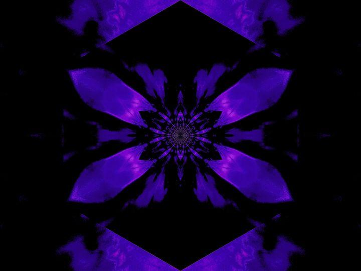 Fire Lotus Deep Purple 2 - Sherrie D. Larch