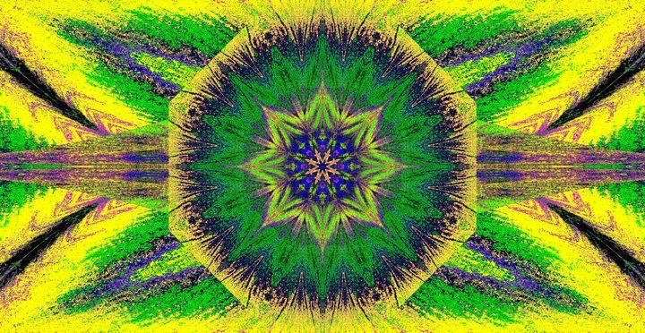 Green Bloom In Winter - Sherrie D. Larch