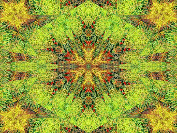 Green In Bloom - Sherrie D. Larch
