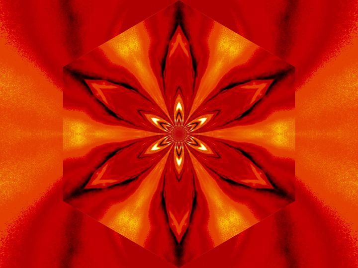 Flowers of Atlantis Golden Flare 3 - Sherrie D. Larch