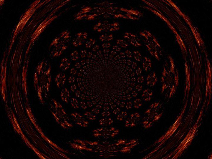Mandala of Gold and Black II - Sherrie D. Larch