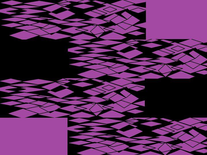 Digital Purple Lace - Sherrie D. Larch