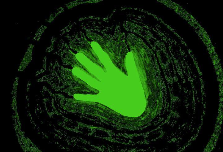 Electric Aura In Green 2 - Sherrie D. Larch